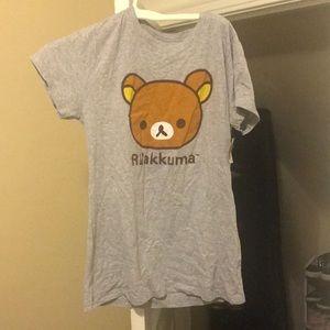Rilakkuma Tee Shirt NWT 2XL